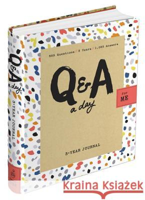 Q&A a Day for Me: A 3-Year Journal for Teens Betsy Franco 9780804186643
