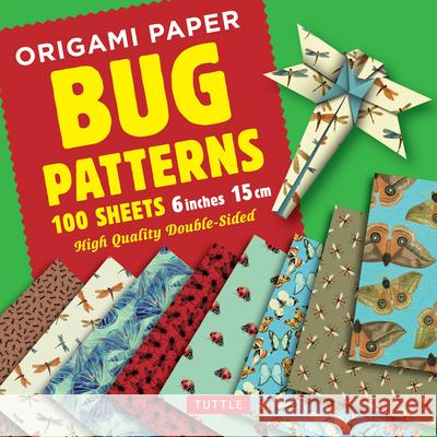 Origami Paper Bug Patterns - 6