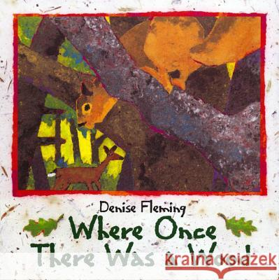 Where Once There Was a Wood Denise Fleming 9780805064827