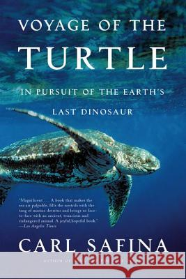 Voyage of the Turtle: In Pursuit of the Earth's Last Dinosaur Carl Safina 9780805083187