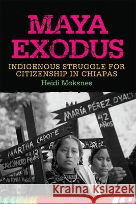 Maya Exodus: Indigenous Struggle for Citizenship in Chiapas Heidi Moksnes 9780806142920