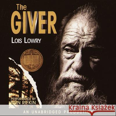 The Giver - audiobook Lois Lowry Ron Rifkin 9780807262030