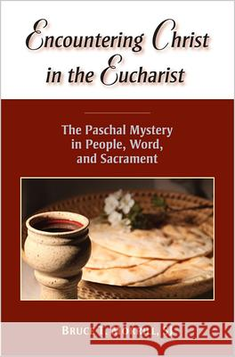 Encountering Christ in the Eucharist: The Paschal Mystery in People, Word, and Sacrament Bruce T. Morrill 9780809147687