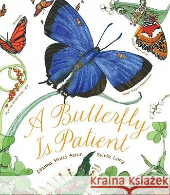 A Butterfly Is Patient Dianna Hutts Aston 9780811864794