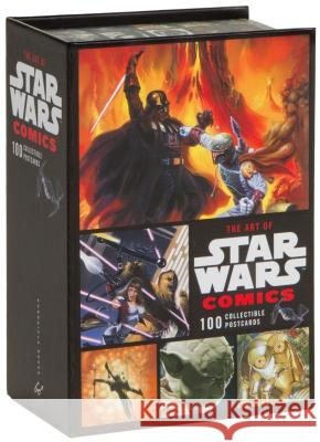 The Art of Star Wars Comics: 100 Collectible Postcards Lucasfilm Ltd 9780811867290