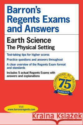 Regents Exams and Answers: Earth Science Berey                                    David Berey 9780812031652