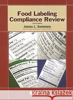 Food Labeling Compliance Review [With CDROM] James L. Summers Elizabeth J. Campbell 9780813821818