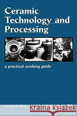 Ceramic Technology and Processing : A Practical Working Guide Alan G. King 9780815514435