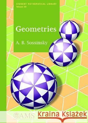 Geometries A B Sosinskii   9780821875711 American Mathematical Society
