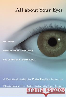 All about Your Eyes-PB Sharon Fekrat 9780822336990