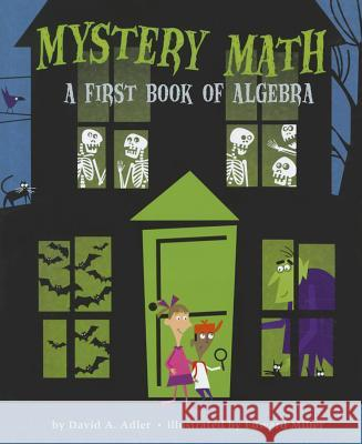 Mystery Math: A First Book of Algebra David D. Adler 9780823422890