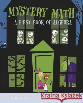 Mystery Math: A First Book of Algebra David A. Adler Edward Miller 9780823425488