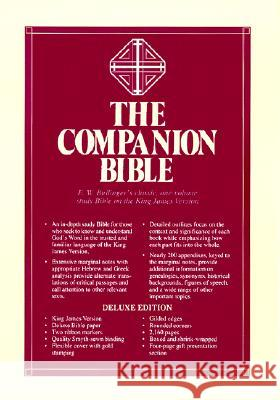 Companion Bible-KJV Kregel Publications 9780825422379