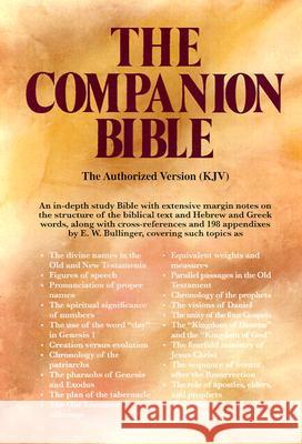 Companion Bible-KJV E. W. Bullinger Kregel Publications 9780825422409