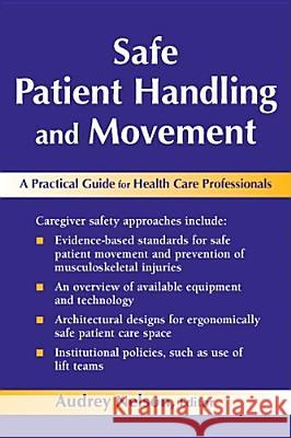 Safe Patient Handling and Movement : A Guide for Nurses and Other Health Care Providers Audrey Nelson 9780826163639