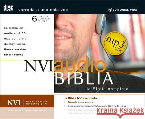 MP3 Bible-NVI - audiobook Zondervan Publishing 9780829749793