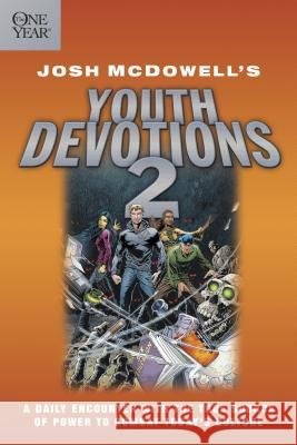 The One Year Josh McDowell's Youth Devotions 2 Josh McDowell 9780842340960 Tyndale House Publishers