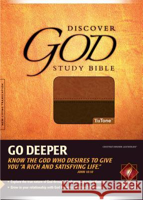 Discover God Study Bible-NLT Bill Bright 9780842369237