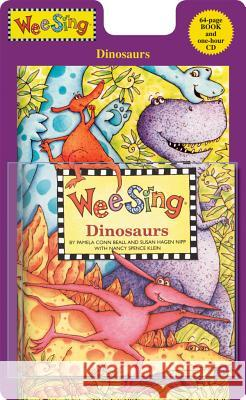 Wee Sing Dinosaurs [With CD (Audio)] Pamela Conn Beall Susan Hagen Nipp Nancy Spence Klein 9780843120974