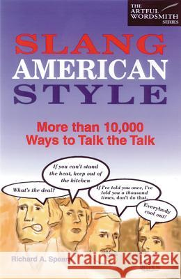 Slang American Style Paper Richard A. Spears 9780844209074 McGraw-Hill Companies