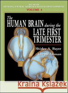 The Human Brain During the Late First Trimester Shirley A. Bayer Joseph Altman 9780849314230