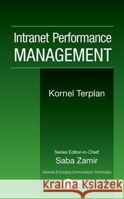 Intranet Performance Management Kornel Terplan 9780849392009