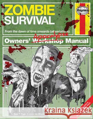 Zombie Survival Manual: From the Dawn of Time Onwards (All Variations) Sean Page 9780857334732