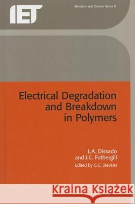 Electrical Degradation and Breakdown in Polymers  9780863411960