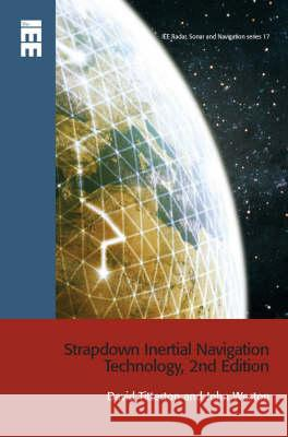 Strapdown Inertial Navigation Technology David Titterton John Weston 9780863413582