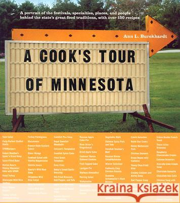 A Cook's Tour of Minnesota Ann L. Burckhardt 9780873514682