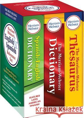 Merriam-Webster's English & Spanish Reference Set Merriam-Webster 9780877793335