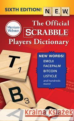 The Official Scrabble Players Dictionary Merriam-Webster 9780877795964
