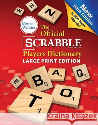 The Official Scrabble Players Dictionary, Fifth Edition Merriam-Webster 9780877796497