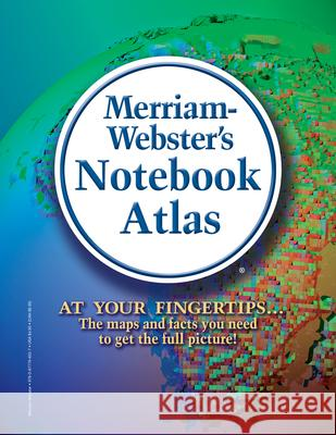 Merriam-Webster's Notebook Atlas Merriam-Webster 9780877796527