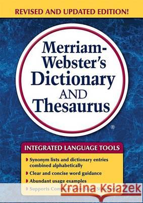 Merriam-Webster's Dictionary and Thesaurus Merriam-Webster 9780877797326