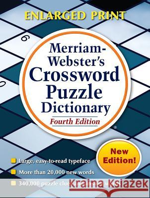 Merriam-Webster's Crossword Puzzle Dictionary Merriam-Webster 9780877797340