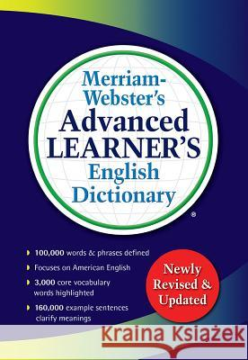 Merriam-Webster's Advanced Learner's English Dictionary Merriam-Webster 9780877797364