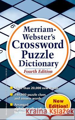 Merriam-Webster's Crossword Puzzle Dictionary Merriam-Webster 9780877798194