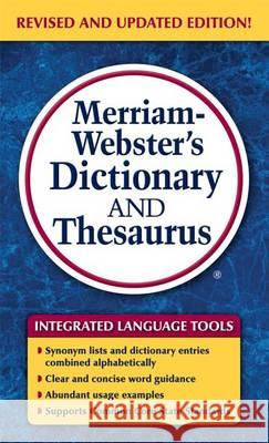 Merriam-Webster's Dictionary and Thesaurus Merriam-Webster 9780877798637
