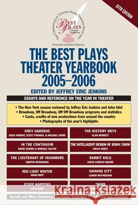 The Best Plays Theater Yearbook Jeffrey Eric Jenkins 9780879103460