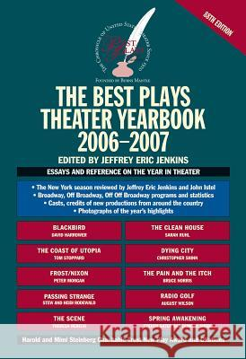 The Best Plays Theater Yearbook Jeffrey Eric Jenkins 9780879103521