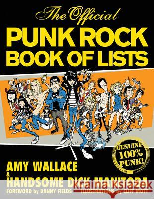 The Official Punk Rock Book of Lists Amy Wallace