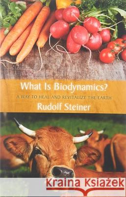 What is Biodynamics? : A Way to Heal and Revitalize the Earth Rudolf Steiner 9780880105408