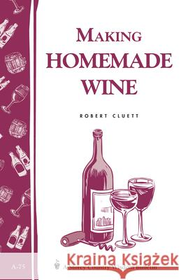 Making Homemade Wine Robert Cluett R. Cluett 9780882662893