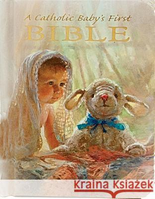 Catholic Baby's First Bible-Nab Victor Rev Hoagland Kathy Fincher 9780882711478