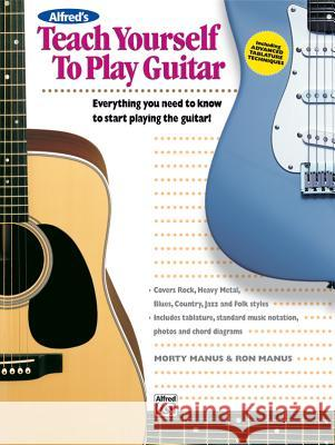 Teach Yourself to Play Guitar Morty Manus Ron Manus 9780882846750