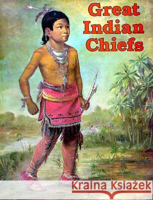 Indian Chiefs Coloring Book Bellerophon Books 9780883880333