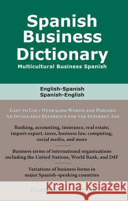 Spanish Business Dictionary: Multicultural Business Spanish Morry Sofer 9780884003397