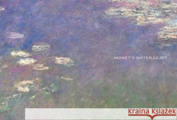 Monet's Water Lilies: The Agapanthus Triptych Simon Kelly Mary Schafer Johanna Bernstein 9780891780953