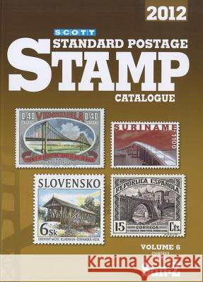 Scott Standard Postage Stamp Catalogue, Volume 6: Countries of the World San-Z Charles Snee 9780894874659